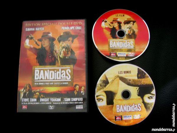 DOUBLE DVD BANDIDAS - Salma HAYEK Pénélope CRUZ 9 Nantes (44)