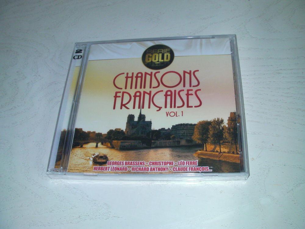DOUBLE CD CHANSONS FRANCAISES 6 Saint-Etienne (42)