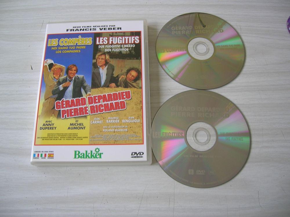 DOUBLE DVD LES COMPERES-LES FUGITIFS 8 Nantes (44)
