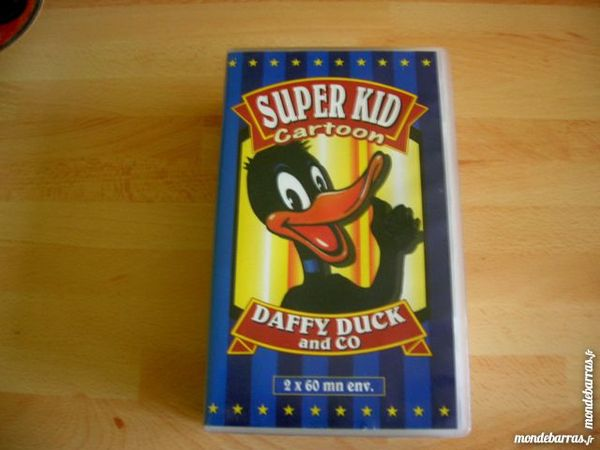 DOUBLE K7 VHS DAFFY DUCK - DESSINS ANIMES 5 Nantes (44)