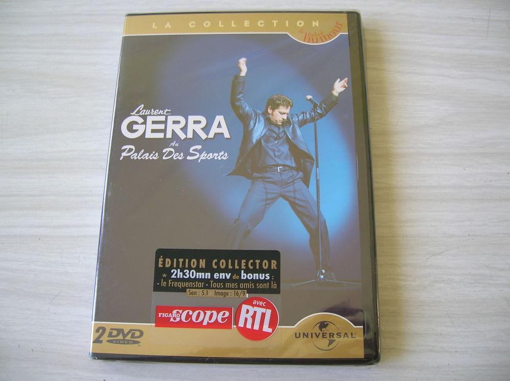 DOUBLE DVD LAURENT GERRA Au Palais des Sports DVD et blu-ray
