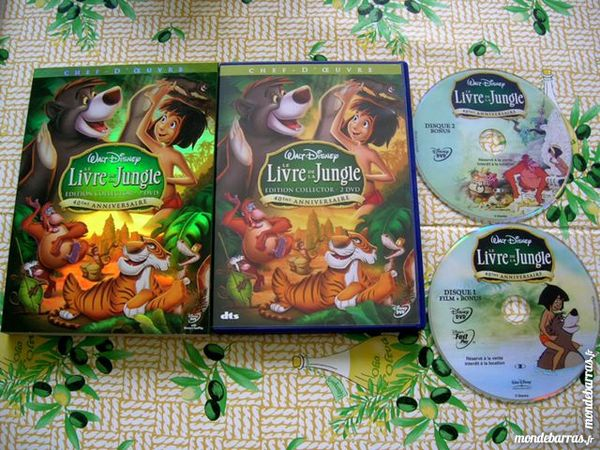 DOUBLE DVD LE LIVRE DE LA JUNGLE  - Walt Disney 25 Nantes (44)