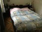 lit double marron avec chevet 230 Paris 6 (75)