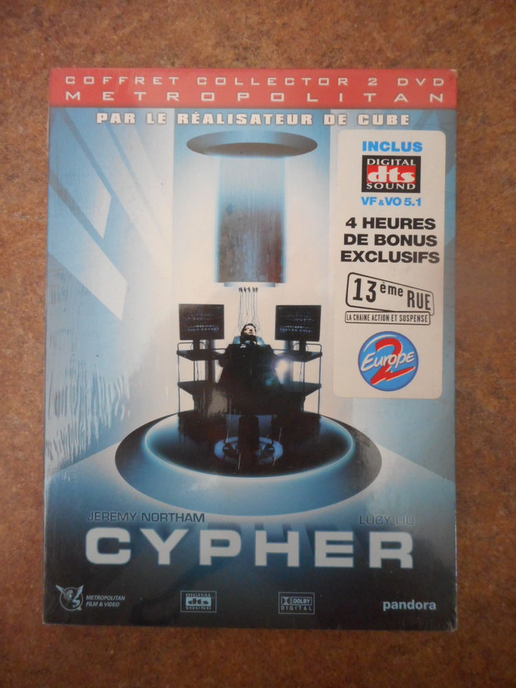 double`dvd neuf ~: Cypher 8 Ludres (54)