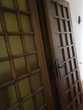 double porte vitrée d'intérieur en chêne à petits carreaux Ucel (07)