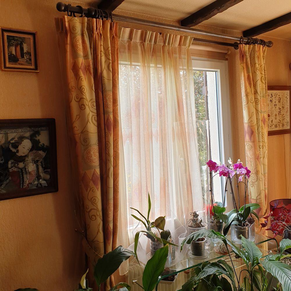 double rideaux et ses voilages 40 La Falaise (78)