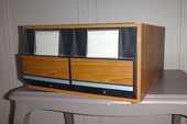Double tiroirs pour rangement  de  CD, avec intercalaires. 12 Paris 15 (75)