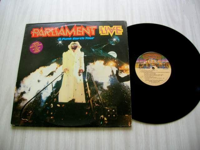 DOUBLE 33 TOURS PARLIAMENT  Live P. Funk Earthtour  87 Nantes (44)