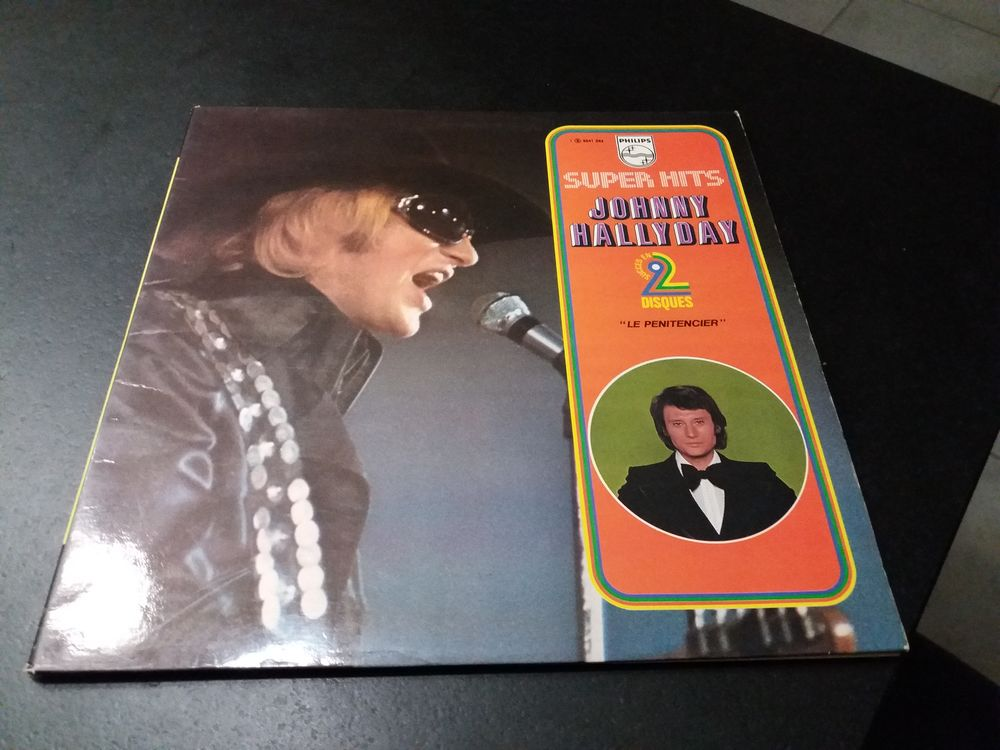 double vinyle Johnny Hallyday 