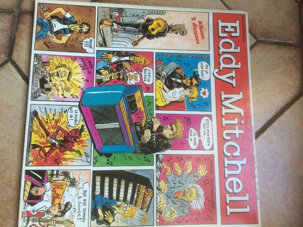 Double vinyls 33 tours Eddy Mitchell  20 Neuves-Maisons (54)