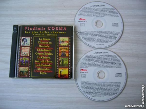 DOUBLE CD VLADIMIR COSMA Les plus belles chansons ciném CD et vinyles