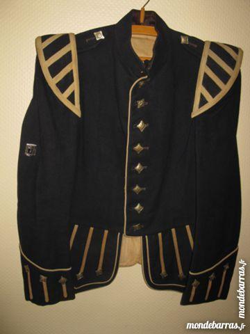 Doublet veste tambour ecossais