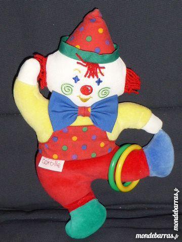 Doudou Corolle Clown acrobate 2001 grelot 6 Rueil-Malmaison (92)