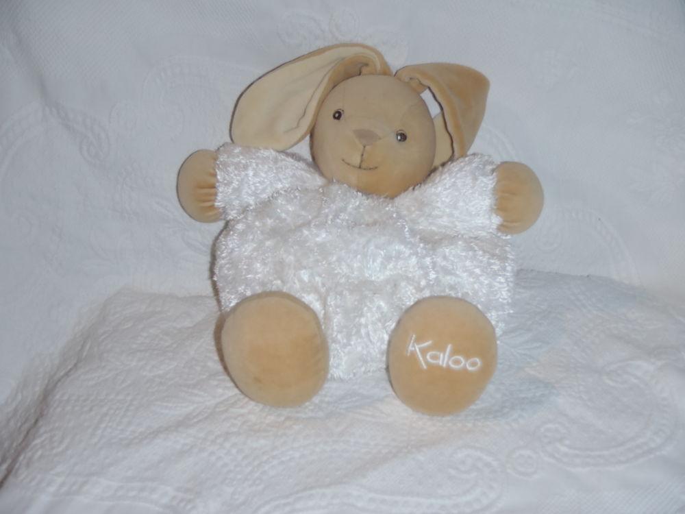 doudou lapin blanc fur patapouf 30cm Jeux / jouets