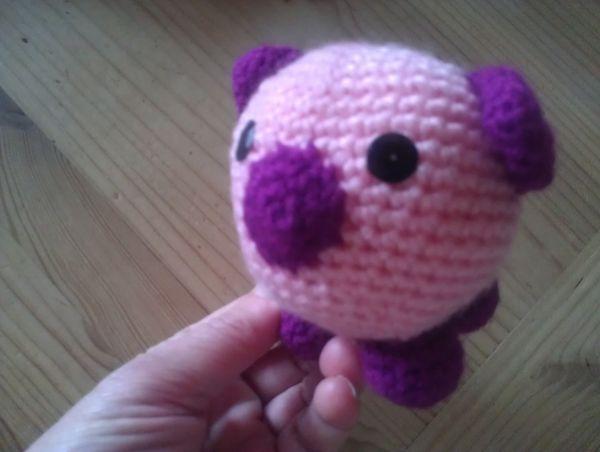 doudou petit cochon fait main 6 Auxonne (21)