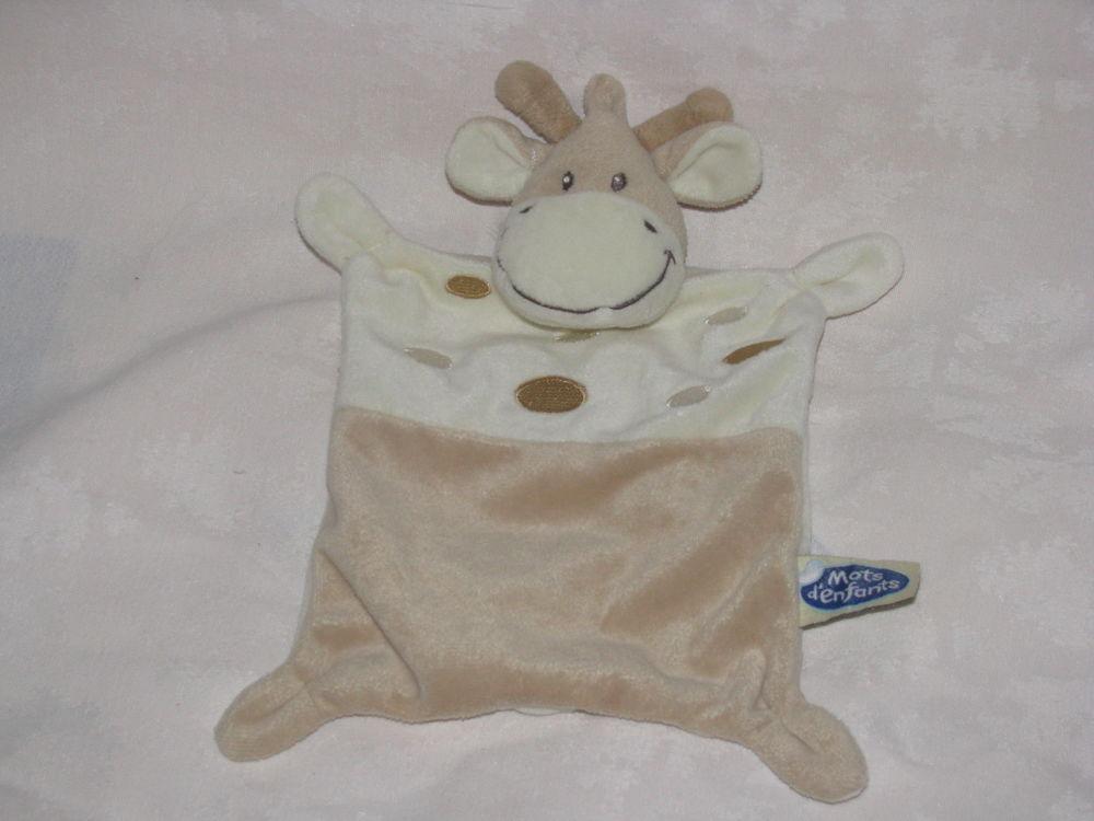 Doudou vache girafe mots d'enfants 3 Bayonne (64)
