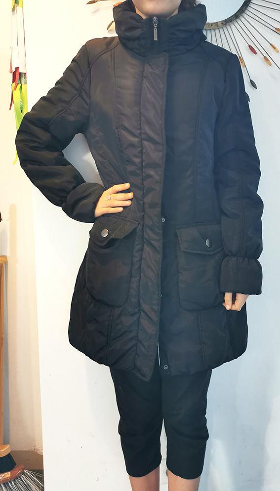 Doudoune longue femme -noir Taille 38 20 Saint-Brevin-les-Pins (44)