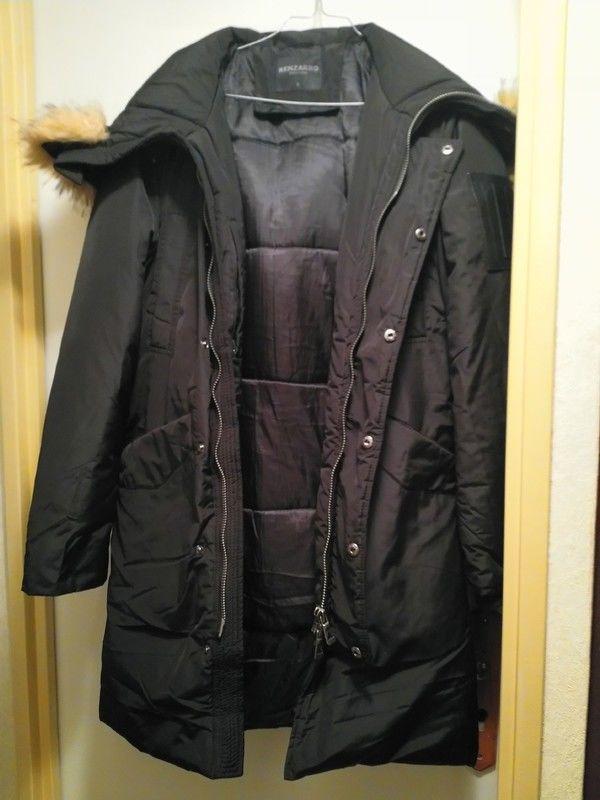 Doudoune longue Noire Homme Kenzarro (Taille S) 35 Savigny-sur-Orge (91)