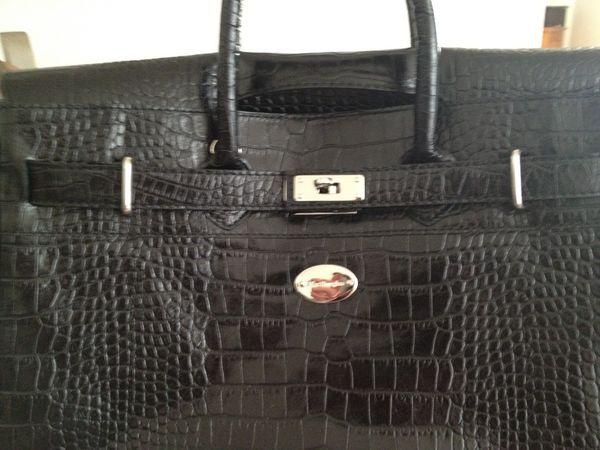 sac mac douglas grd modèle noir croco, 400 Brest (29)