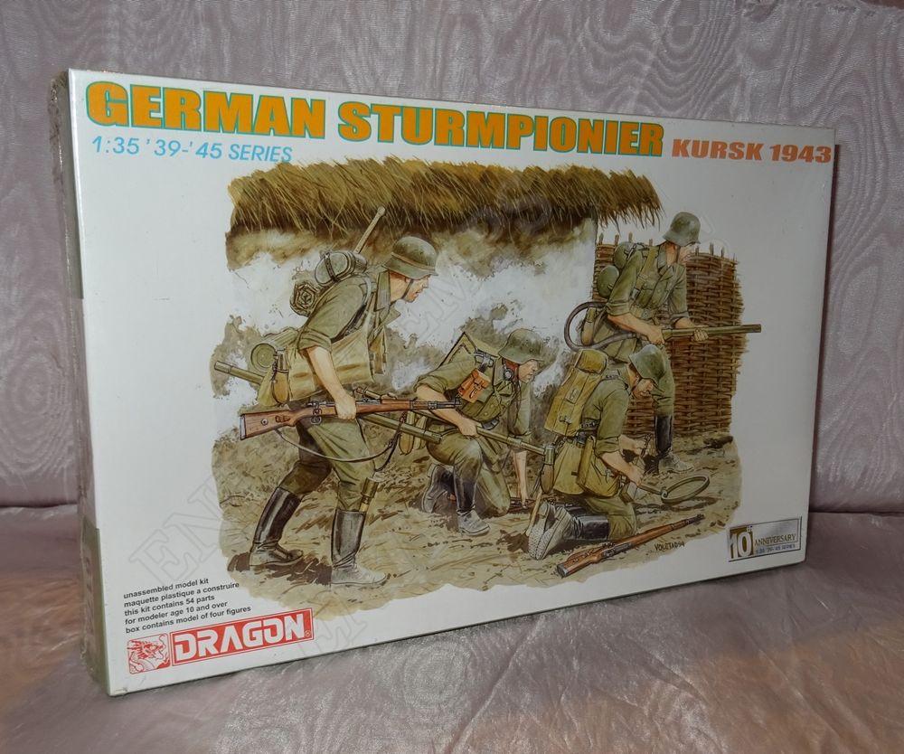 DRAGON 6174 GERMAN STURMPIONIER KURSK 1943 NEUF BO 15 Sergines (89)