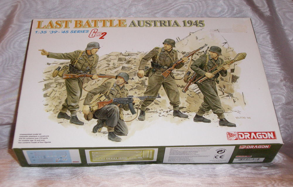 DRAGON 6278 LAST BATTLE AUSTRIA 1945 1.35 NEUF EN BOITE 15 Sergines (89)
