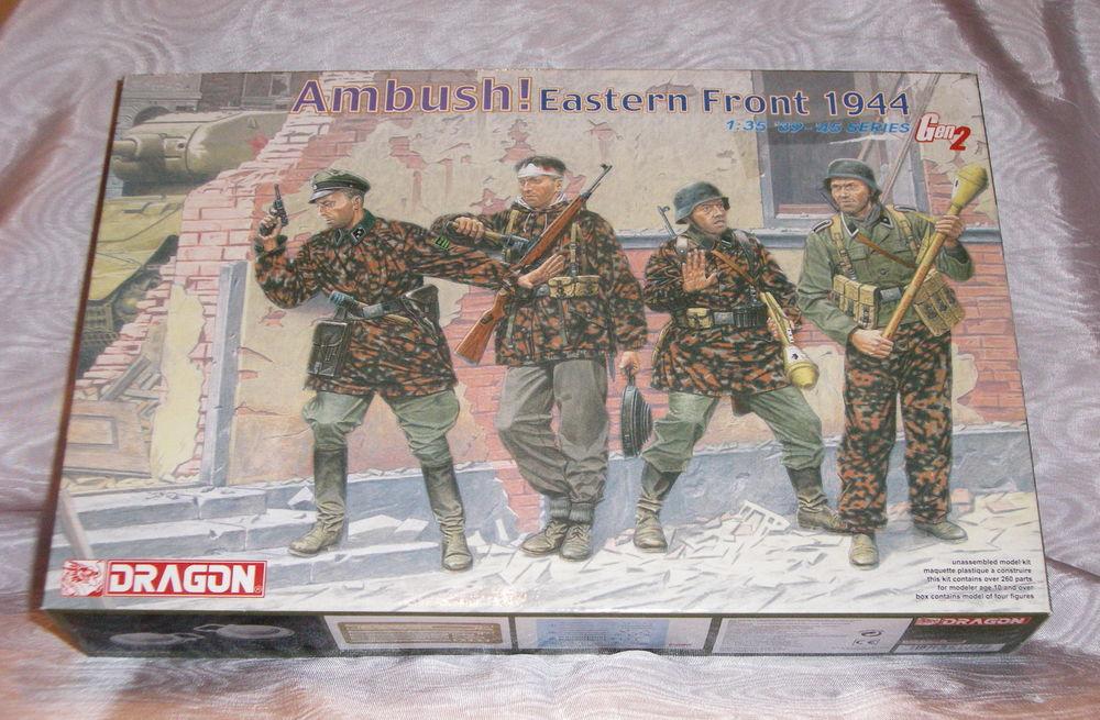 DRAGON 6333 AMBUSH ! EASTERN FRONT 1944 1.35 NEUF EN BOITE 14 Sergines (89)