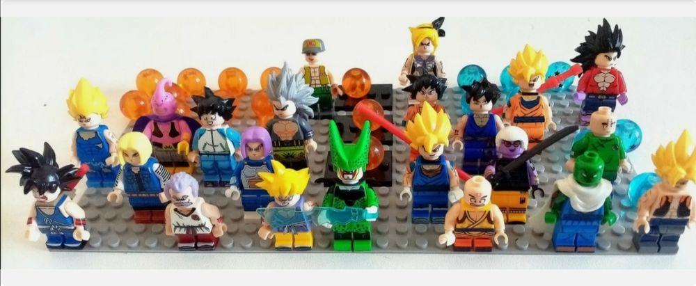 Dragon ball 22 figurines lego 2 Saint-Florent-des-Bois (85)