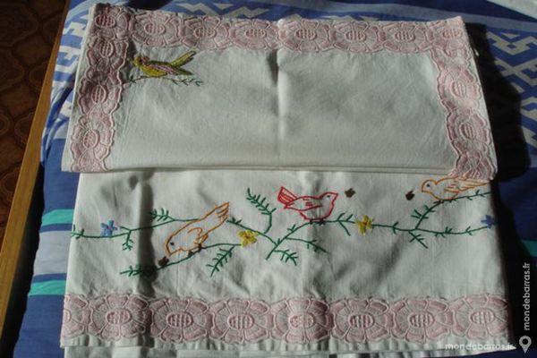 Drap avec taie oreiller pour landeau 4 Vendôme (41)
