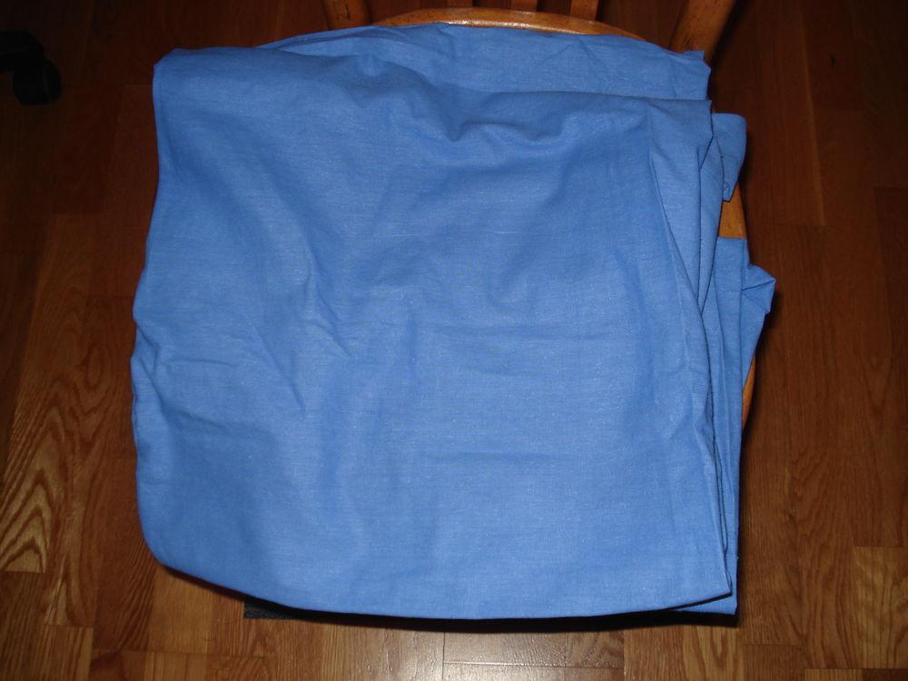 Drap housse bleu lit une personne ou peux servir autre chose 0 Mérignies (59)