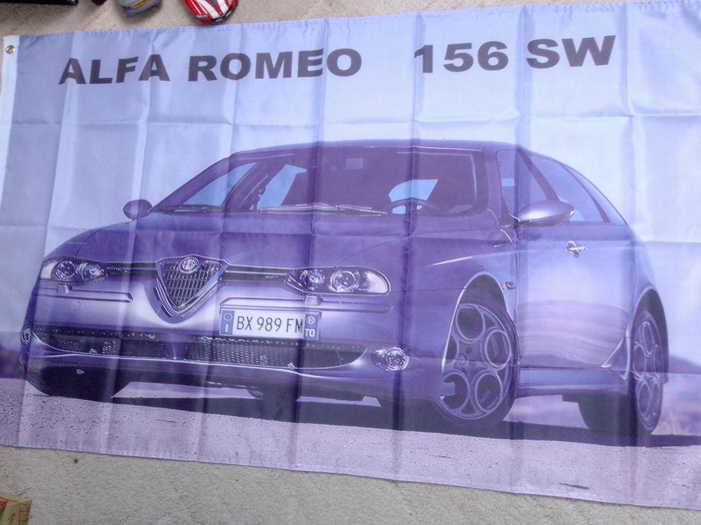 Drapeau Alfa Romeo 156 SW , neuf 25 Saint-Hernin (29)