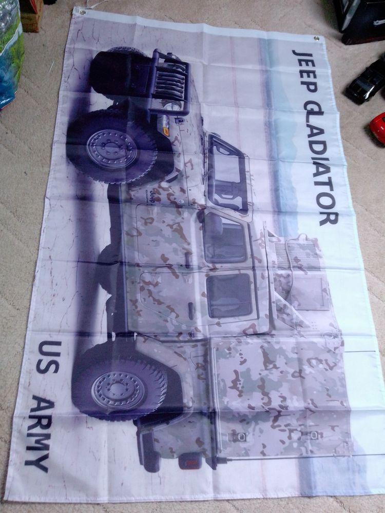 Drapeau Jeep Gladiator, neuf 25 Saint-Hernin (29)