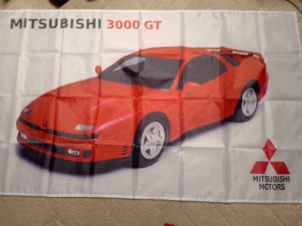 Drapeau Mitsubishi 3000GT, neuf 25 Saint-Hernin (29)