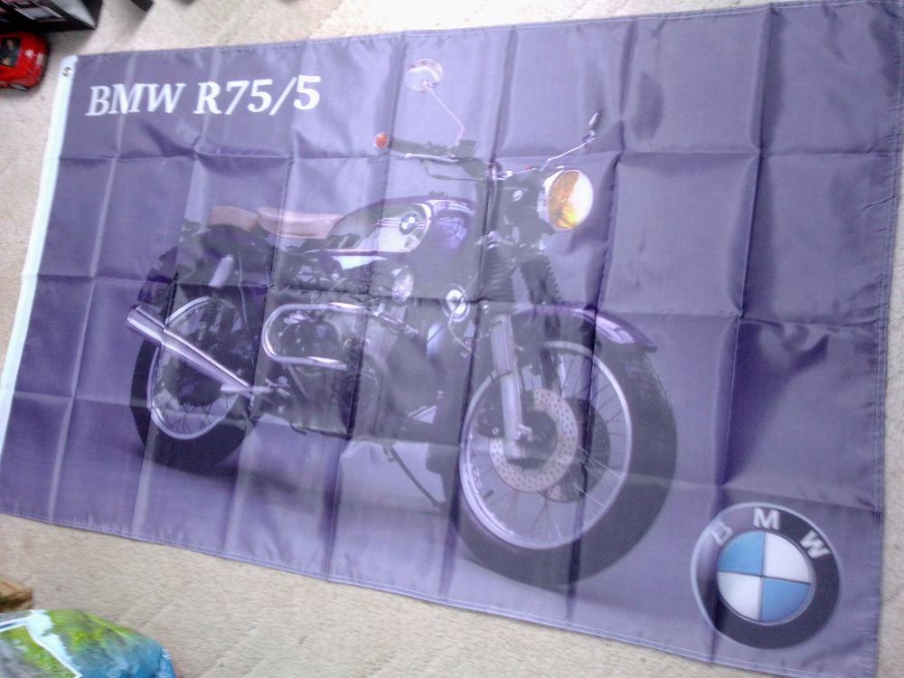 Drapeau BMW R75/5, neuf 25 Saint-Hernin (29)