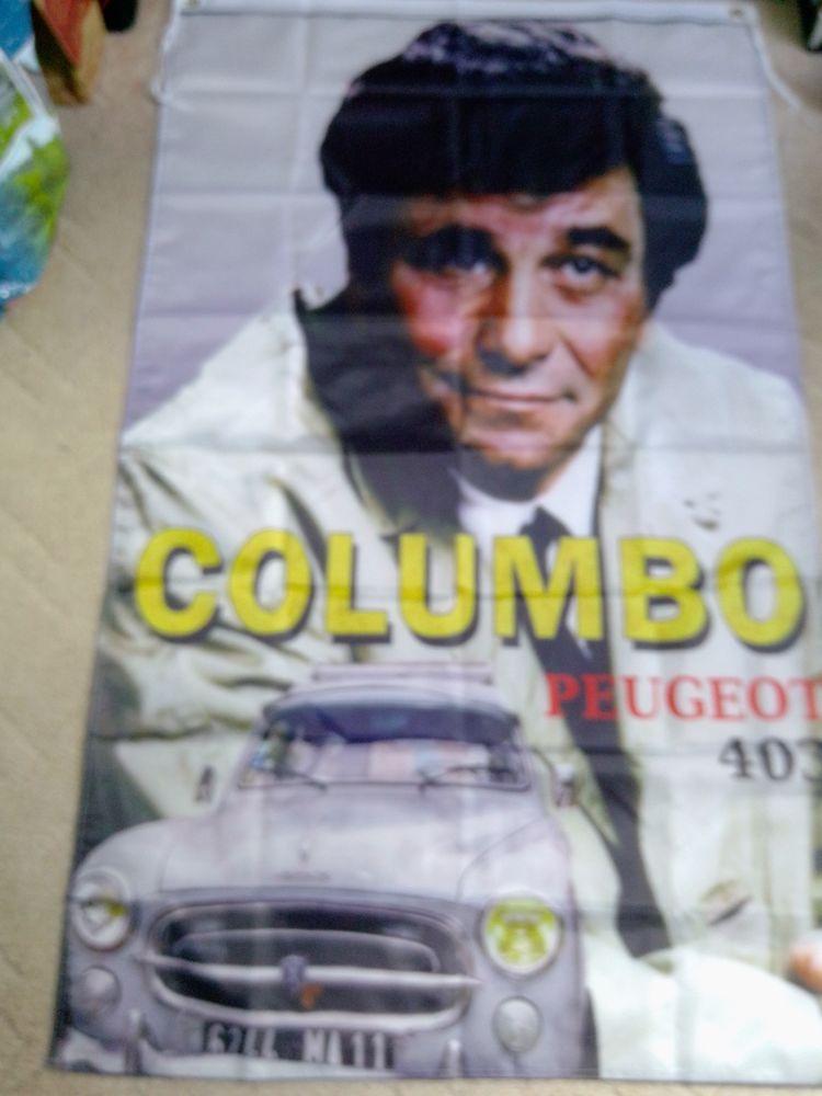Drapeau Peugeot 403 Columbo, neuf 25 Saint-Hernin (29)
