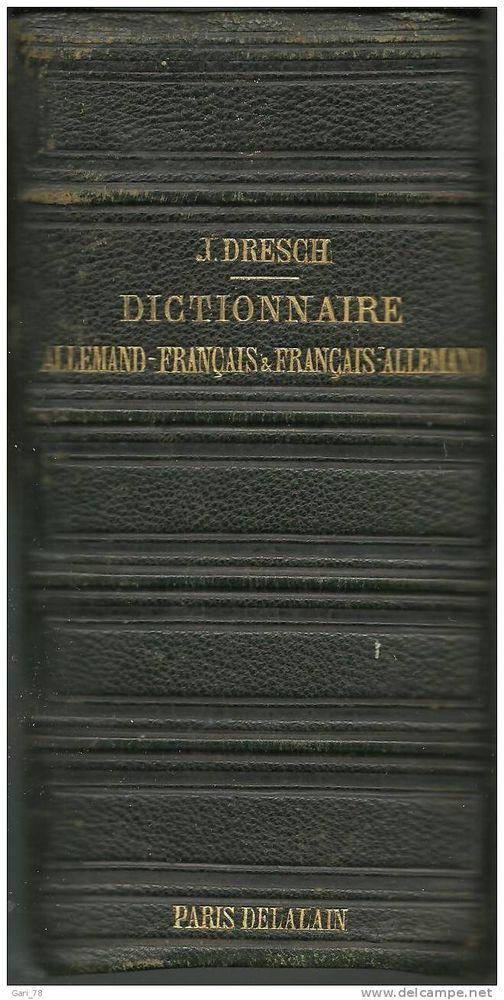 DRESCH NOUVEAU DICTIONNAIRE CLASSIQUE ALLEMAND FRANçAIS  10 Montauban (82)