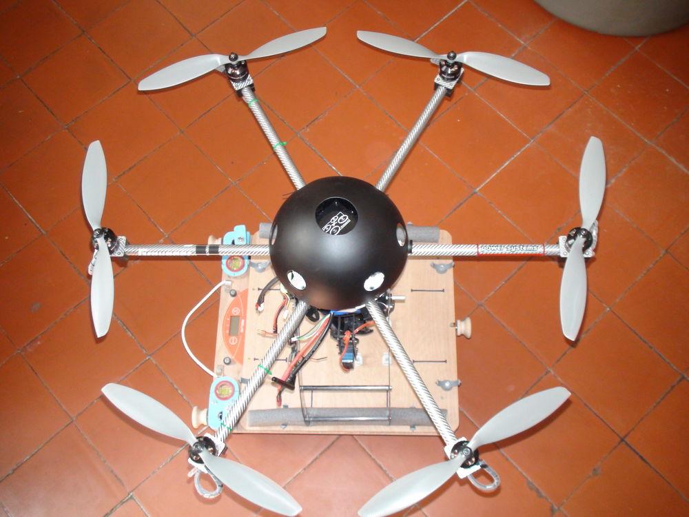 DRONE HEXA MIKROKOPTER 2000 Villegailhenc (11)