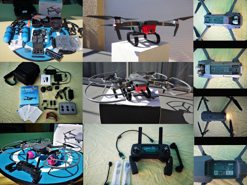 Drone dji mavic pro combo et accessoires 800 Saint-Chamas (13)