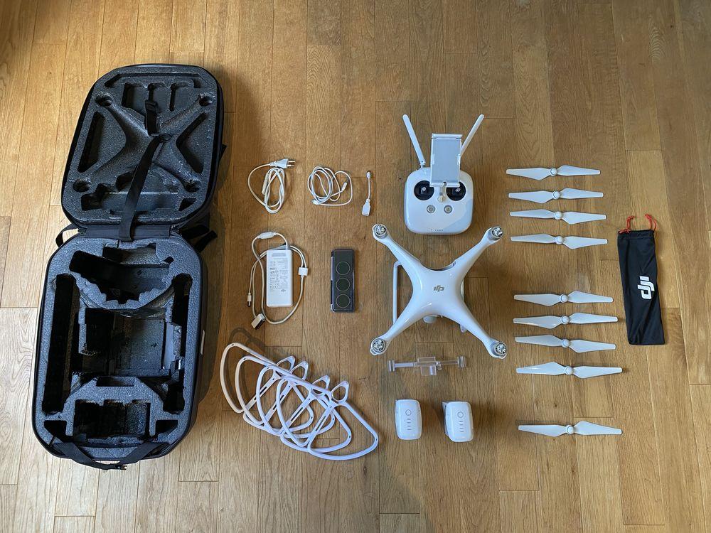 Drone DJI Phantom 4 + Nombreux accessoires et sac transport 800 Paris 3 (75)