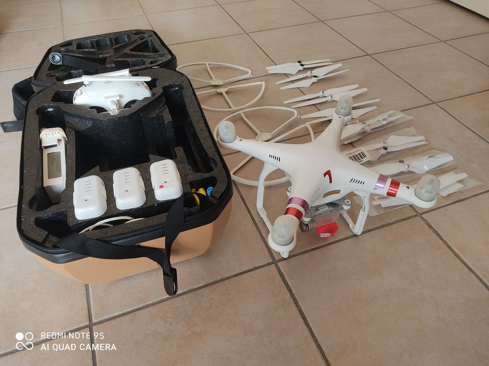 Drone Dji phantom 3 professionnel 4k 430 Châteaurenard (13)