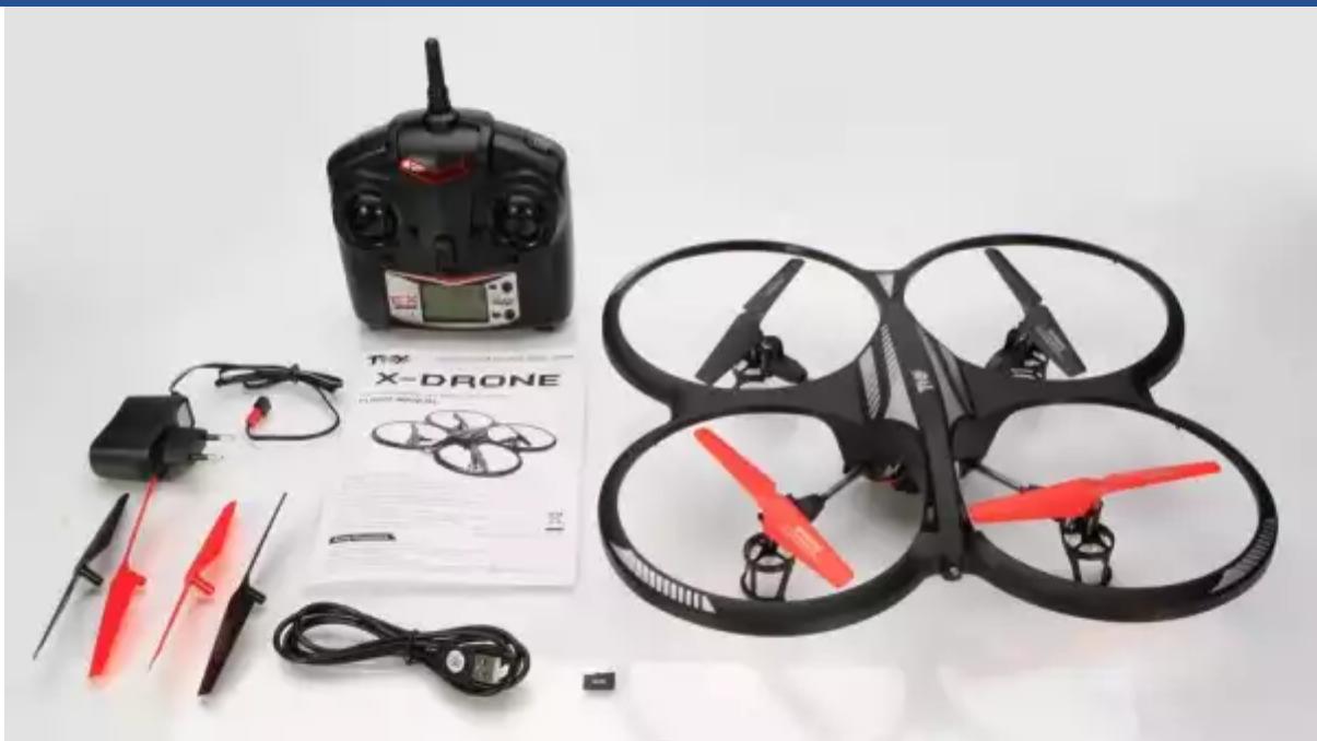X-DRONE  2.4G Quadcopter avec une CAMÉRA 59 Nantes (44)