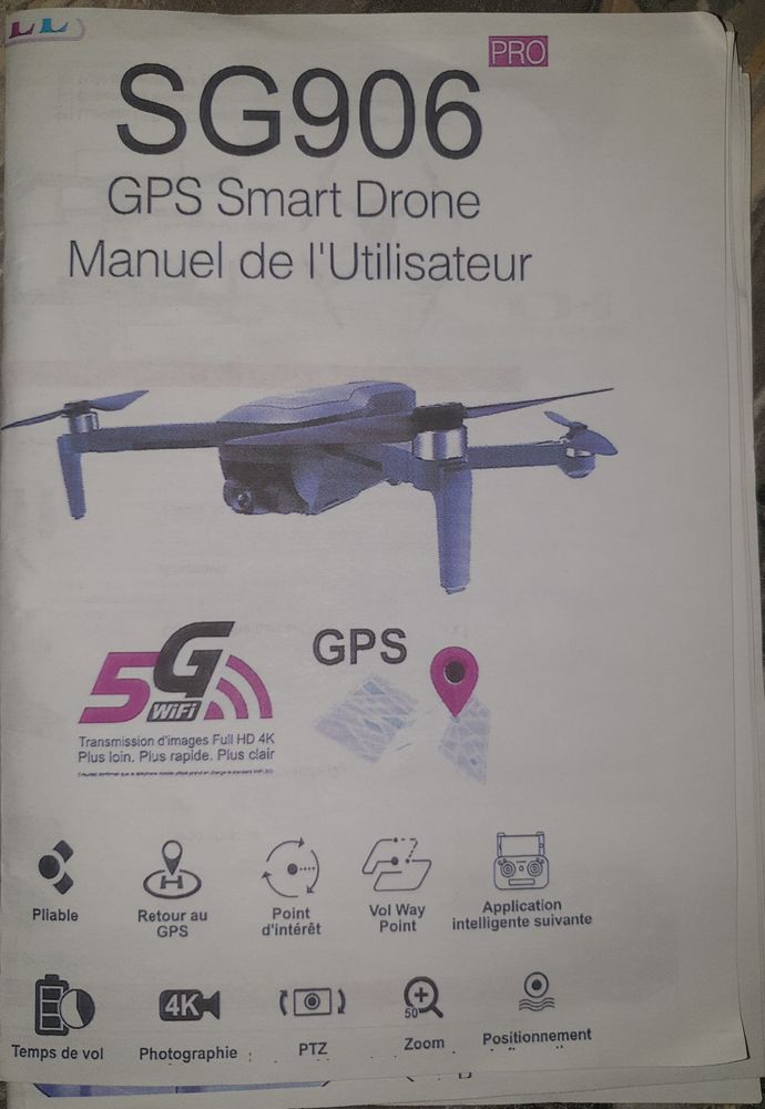 Drone ZLRC SG 906 PRO 80 Labarthe-sur-Lèze (31)