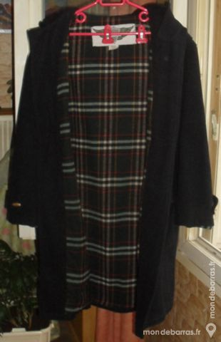 Duffle-Coat en laine unie taille L marque FINWAY Vêtements