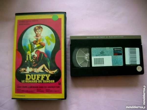 K7 VHS DUFFY LE RENARD DE TANGER - Action 76 Nantes (44)