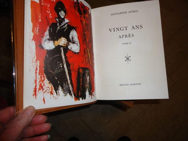 A.DUMAS : 20 ANS APRES 1965 TBE 2 volumes 30 Thaon-les-Vosges (88)