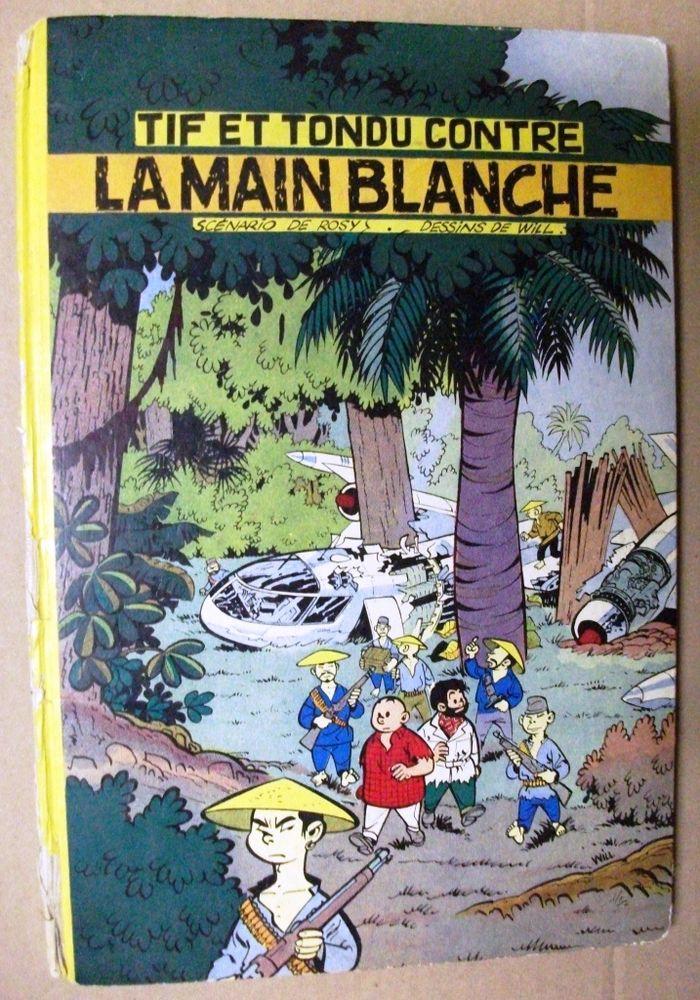 E.O. [Dupuis 1956] Tif et Tondu contre la main blanche   85 Castelnaudary (11)