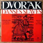 DVORAK - DANSES SLAVES-33t-ORCH NATIONAL RTF-Paul KLETZKI-63 5 Tourcoing (59)