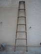 Echelle industrielle tube 35mm/usine loft (G) Décoration