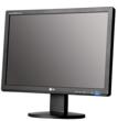 Écran Plat Noir (Moniteur PC) LG avec Support en Verre Matériel informatique