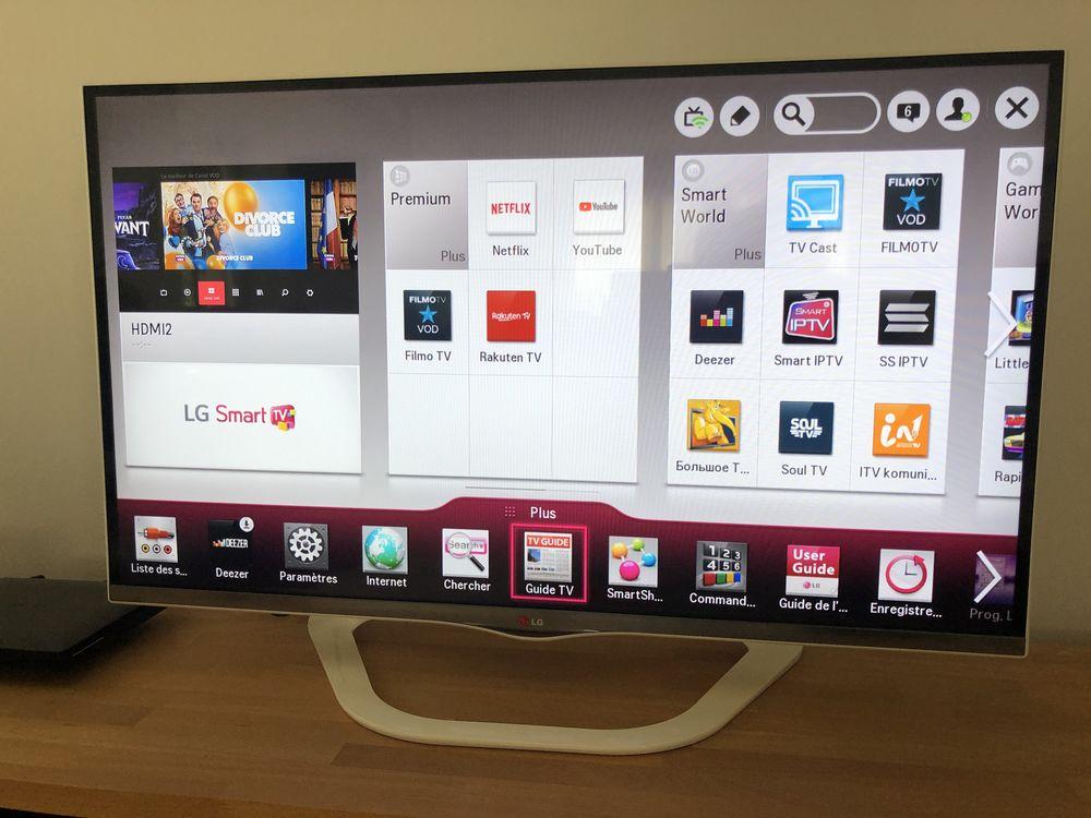 TV LG écran plat 108 cm 290 Saint-Caprais-de-Bordeaux (33)