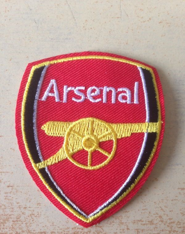 Ecusson brodé arsenal football club 6,5x5 cm 5 Carnon Plage (34)